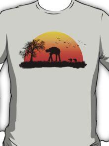 AT-AT. Left to roam free T-Shirt