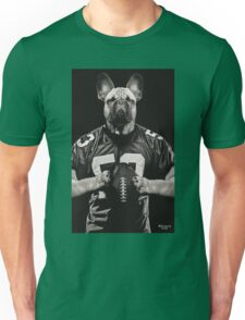 Chop american football black Unisex T-Shirt