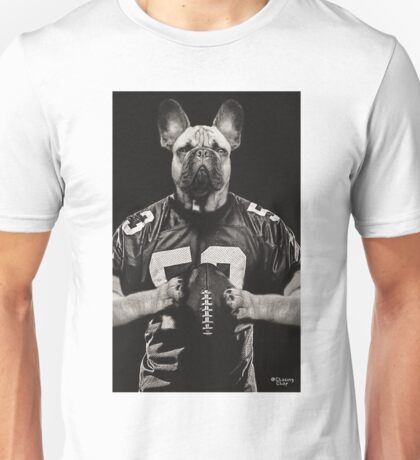 Chop american football black Unisex T-Shirt