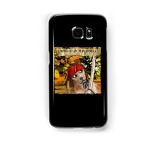 Captain Jack Russell Samsung Galaxy Case/Skin