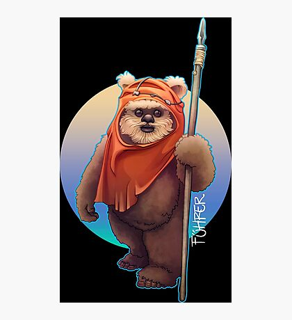 Ewok Photographic Print