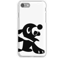 Popplio Black iPhone Case/Skin