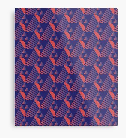 Tesselate Metal Print