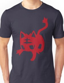 Litten Red Unisex T-Shirt