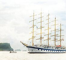 Royal Clipper, world's largest fully rigged sailing ship by globeboater