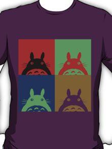 Warhol's Totoro Dark Version T-Shirt