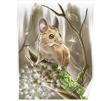 Wood Mouse Poster