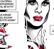 Drag City - Katya Sticker
