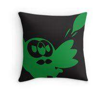 Rowlet Green Throw Pillow