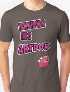 Lady Gaga - ARTPOP artRave  POP MUSIC T-Shirt
