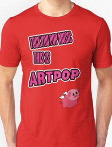 Lady Gaga - ARTPOP artRave  POP MUSIC T-Shirt