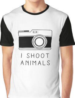 I Shoot Animals Graphic T-Shirt