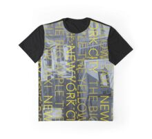 THE YELLOW TAXI Graphic T-Shirt