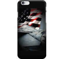 F-14 and American Flag iPhone Case/Skin