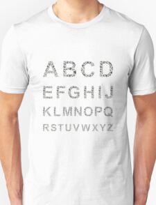 Bird the alphabet Unisex T-Shirt