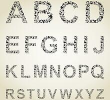 Bird the alphabet by Aleksander1