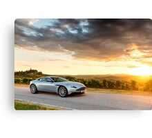 Aston Martin DB11 - Shot on Location in Italy Canvas Print