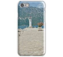 Our Lady of the Rock iPhone Case/Skin