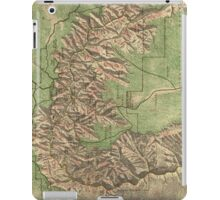 Vintage Map of The Grand Canyon (1926) iPad Case/Skin