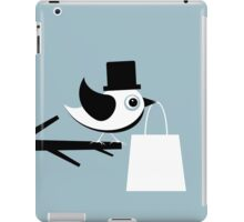 Bird with a package iPad Case/Skin
