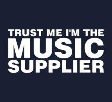 Music supplier (white) Kids Tee