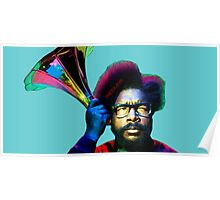 Questlove - Life in Color. Poster