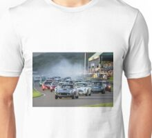 Racing at the Goodwood Revival  Unisex T-Shirt