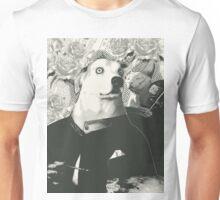 Autoportrait with cat Unisex T-Shirt