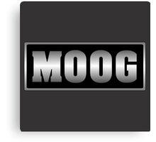 Vintage Old Moog Canvas Print