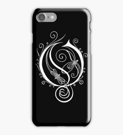 Opeth white iPhone Case/Skin