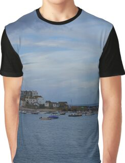 St Ives Harbour Graphic T-Shirt