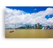 Macau cityscape Canvas Print