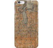 Vintage Map of Marseille France (1914) iPhone Case/Skin
