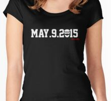 RIP ECONOMY, MAY 9, 2015 Women's Fitted Scoop T-Shirt