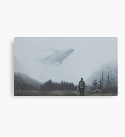 The lonely wanderers Canvas Print