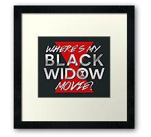 Black Widow Movie Framed Print