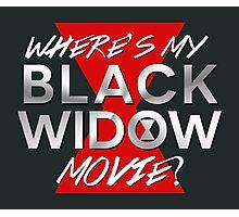 Black Widow Movie Photographic Print