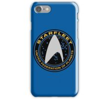 Star Trek - Starfleet / UFP Logo Screen (Screen Accurate!) iPhone Case/Skin