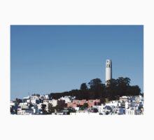 San Francisco Coit Tower Kids Tee