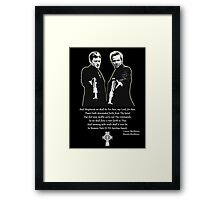 Boondock Saints Framed Print