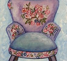 The Purple Chair by Sonja Peacock