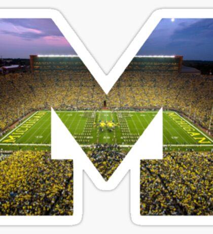 University of Michigan- M Sticker