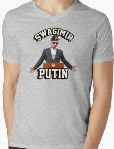 Swagimir Putin Mens V-Neck T-Shirt