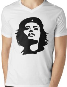 Girls to the front! Mens V-Neck T-Shirt