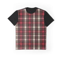 Horace Green Plaid  Graphic T-Shirt