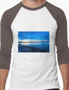 Coastal landscape  Men's Baseball ¾ T-Shirt