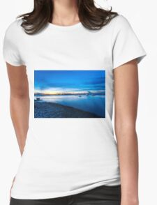 Coastal landscape  Womens Fitted T-Shirt