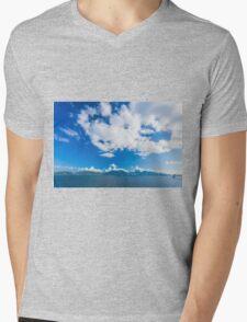 Coastal landscape  Mens V-Neck T-Shirt