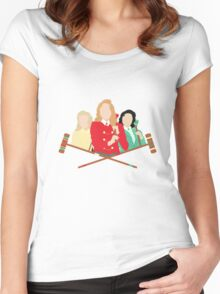 What's Your Damage? | Heathers Women's Fitted Scoop T-Shirt