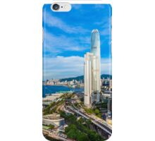 Hong Kong modern scene iPhone Case/Skin